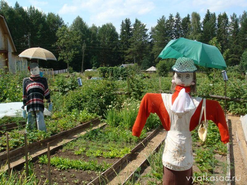 садовые пугала