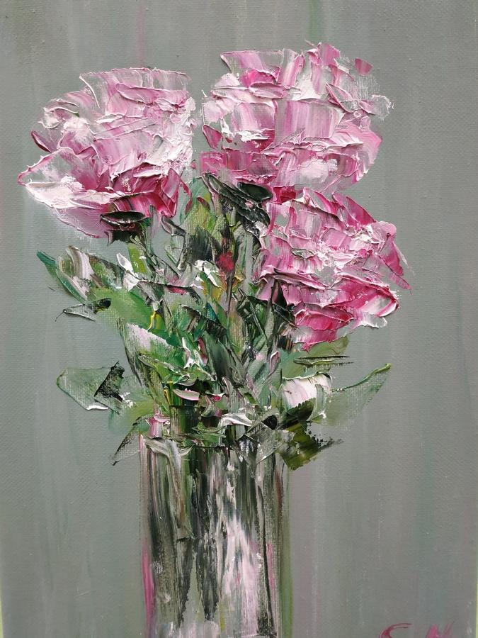 Розы. Картины Надежды Соколовой