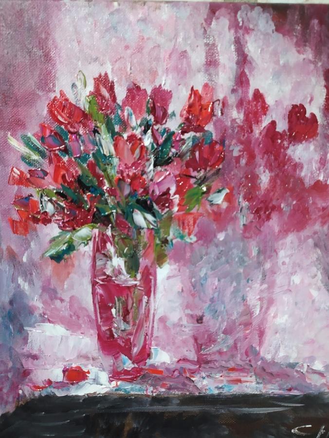 Тюльпаны. Картины Надежды Соколовой